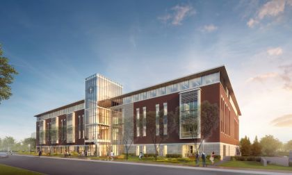 A rendering of the Rowan University Rohrer College of Business