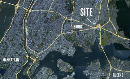 At a nexus for infrastructure and transportation, the site has access to the East River via Westchester Creek as well as an unparalleled 6-way intersection of interstate highways.