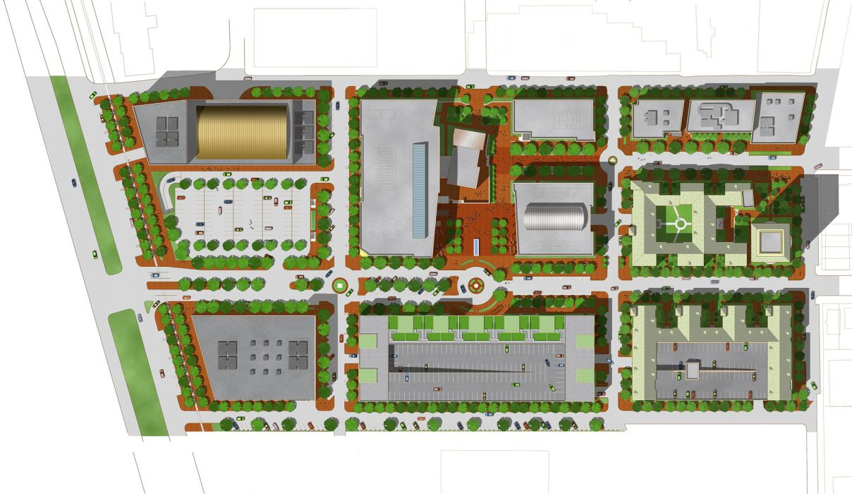 West Campus Master Plan Kss Architects