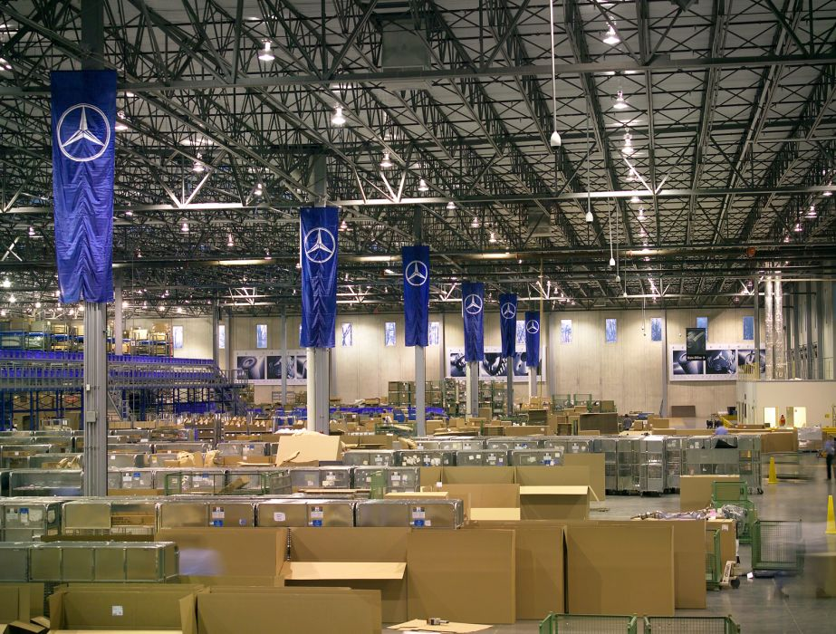New Parts Distribution Center Kss Architects