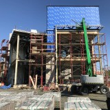 Discovery Hall at @Rowan University is taking shape! The brick being installed on the façade of the future home of the School of Earth and Environment is reminiscent of the earth's natural materials while in keeping...