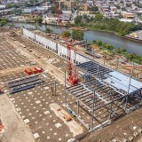 Check out the continued progress at 2505 Bruckner! Steel erection has commenced at the multistory industrial hub which, when complete, will provide last mile delivery to tens of millions of people throughout New...