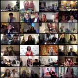 Our annual holiday party looked a little different this year…In true 2020 fashion, KSS gathered on Zoom to celebrate the holiday season and toast one another as part of a virtual wine tasting with @voluptuarywine....