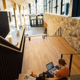 """A perfect perch in the Campus Center""  Seeing our work being utilized and enjoyed by the @sarahlawrencecollege community fills us with pride and gratitude to have been part of this groundbreaking project for the..."