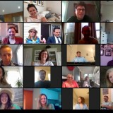 We pride ourselves on our vibrant company culture and we're committed to sustaining it while we all #workfromhome. We took our weekly in-office happy hours online and caught up via #zoom—seeing each other's faces...