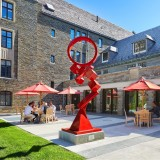 Our renovation of @cornell_law_school's Hughes Hall knit an existing dormitory structure into the daily life of CLS, elevating the entry sequence, enhancing wayfinding, programming exterior spaces, and organizing...